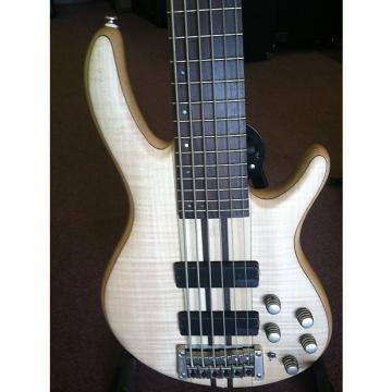 Custom CORT A6 Natural 6 String Bass w/ Bartolini pickups