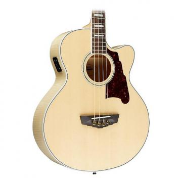 Custom D'Angelico Mott Cutaway Acoustic Bass Natural
