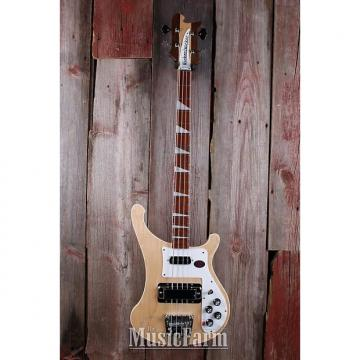 Custom Rickenbacker 4003 MG 4 String Bass Electric Guitar Maple Glo with Hardshell Case