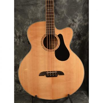 Custom Alvarez AB60CE Acoustic Bass Cutaway Natural w Solid Spruce Top & Baggs Electronics