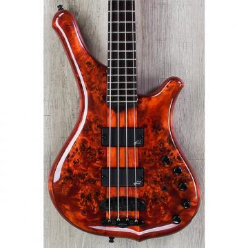 Custom Mayones Comodous Classic 4 Bass, Liquid Red, Aguilar Electronics