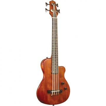 Custom Gold Tone Solid Electric Micro Bass 23 Inch scale with Gig Bag - ME-Bass