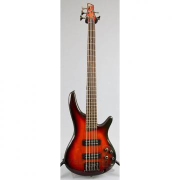Custom Ibanez SR375E 5-String Bass Guitar | Aged Whiskey Burst