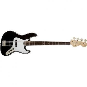 Custom Squier Affinity Jazz 4-String Electric Bass Guitar Rosewood Fingerboard Black