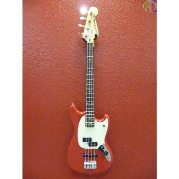 Custom Fender Mustang Bass PJ, Rosewood Fingerboard, Torino Red