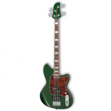 Custom Ibanez TMB300 MFT Metallic Forest 4-String Talman Bass Guitar