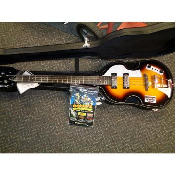 "Custom new Hofner HOF-HI-BB-CCL-O Beatle Bass Cavern Club Liverpool Edition w/ hsc ""B"" stock"