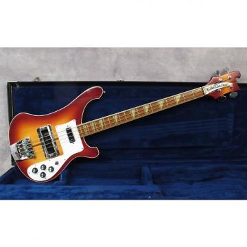 Custom 1980 Rickenbacker 4001   Fireglo   Ohsc   Exceptional 9.5/10   Andy Baxter Bass