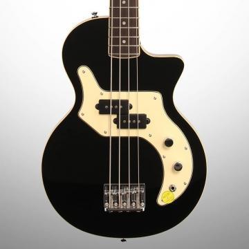 Custom Orange O Bass Electric Bass (with Gig Bag), Black