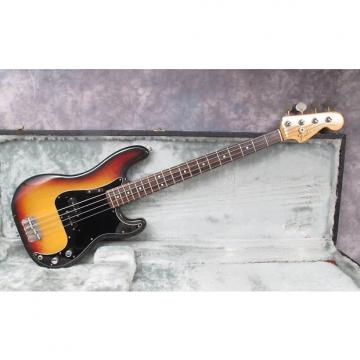 Custom 1973 Fender Precision   Sunburst   Andy Baxter Bass & Guitars Ltd