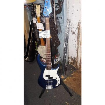 Custom Peavey  Milestone bass 2015 blue sparkle