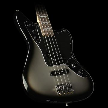 Custom Fender Troy Sanders Jaguar Electric Bass Guitar Silverburst