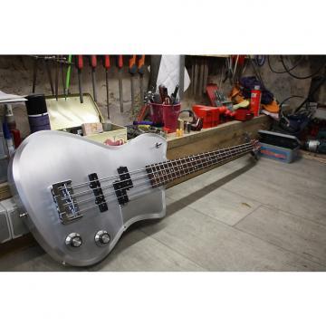 Custom MeloDuende Guitars Fury Bass 2016 Brushed Aluminium