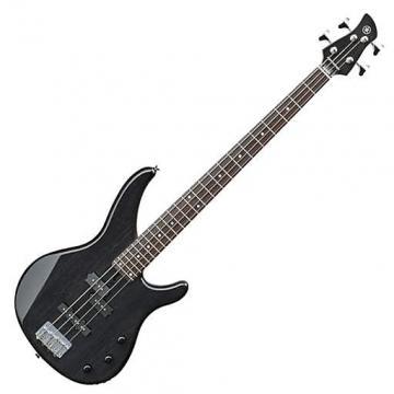 Custom Yamaha TRBX174EW Mango Wood 4-String Electric Bass Guitar - Translucent Black