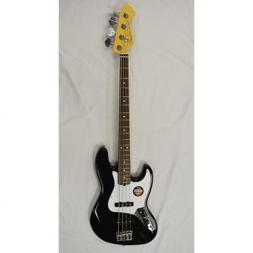 Custom Fender  American Standard Jazz Bass Black W/Case