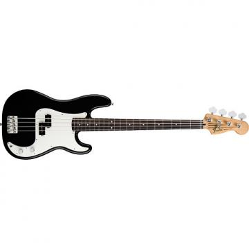 Custom Fender Standard Precision 4-String Bass Guitar Rosewood Fingerboard Black