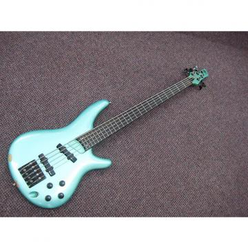 Custom Ibanez Sound Gear 5 String Bass Seafoam Green