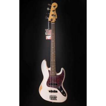 Custom Fender Flea Jazz Bass, Rosewood Fingerboard, Roadworn Shell Pink