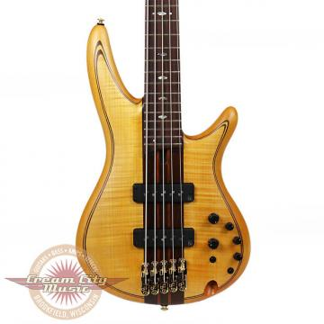 Custom Brand New Ibanez SR1405EVNF Premium Series 5-String Electric Bass in Vintage Natural Flat