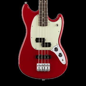 Custom Fender Mustang Bass PJ with Rosewood Fingerboard - Torino Red