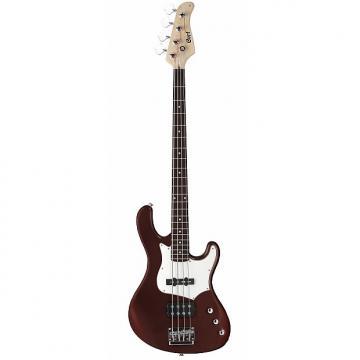Custom Cort GB Series GB34A 4-String Electric Bass Guitar, Walnut Satin
