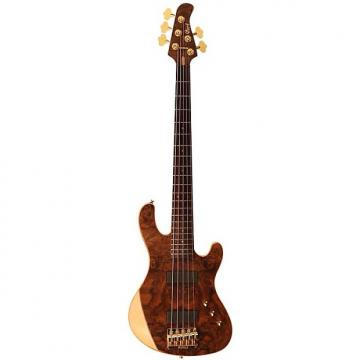 Custom Cort Jeff Berlin Signature Series Rithimic 5-String Electric Bass, Natural