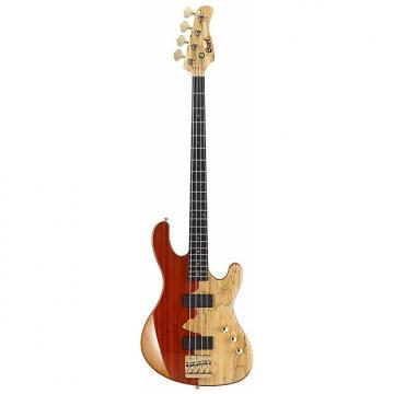 Custom Cort Jeff Berlin Signature Series Rithimic 4-String Electric Bass, Natural