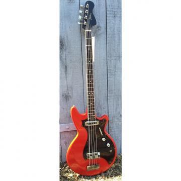 Custom Framus Strato Star bass mid 1960s Red