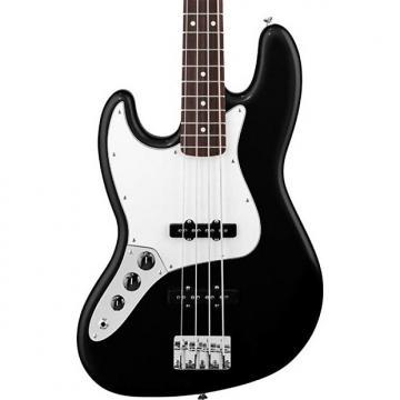 Custom Fender Standard Jazz Bass Left-Handed, Black