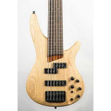 Custom Ibanez SR656 6-String Bass Guitar Natural Flat