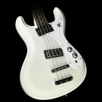 Custom Danelectro '64 Electric Bass Guitar Vintage White