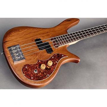 "Custom Birdsong Cortobass #16C-342  31"" Scale Bass Guitar, Redwood BEERBASS Theme Build"