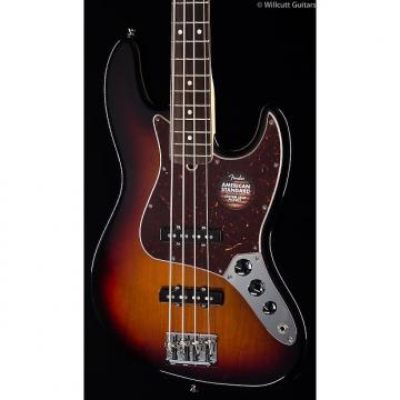Custom Fender American Standard Jazz Bass® 3-Tone Sunburst, Rosewood (534)