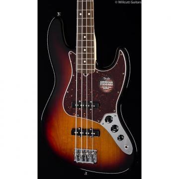 Custom Fender American Standard Jazz Bass® 3-Tone Sunburst, Rosewood (439)