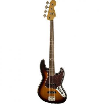 Custom Fender Road Worn 60s Jazz Bass 4-String Electric Bass 3-Color Sunburst