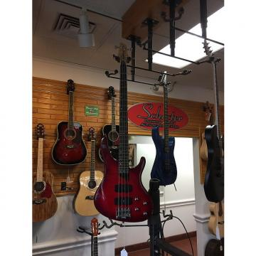 Custom USED Washburn XB400 4 String Bass Red