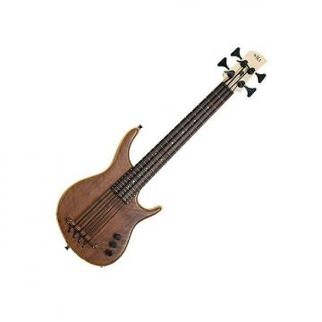 Custom Kala KA-SB4FSWLNT 4-String Fretted UBASS - Exotic Walnut with Gig Bag