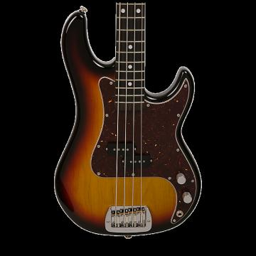 Custom G&L USA LB-100 Electric Bass - Nitro 3 Tone Sunburst with Case