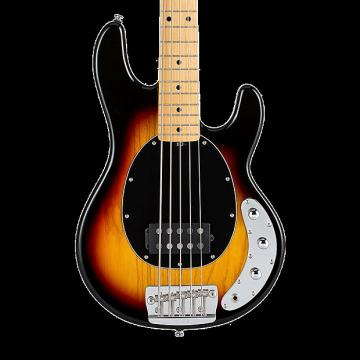 Custom Sterling by Music Man Ray35 Classic Active 5-String Bass - 3-Tone Sunburst with Gig Bag