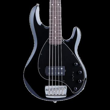 Custom Sterling by Music Man Ray35 5-String Bass - Black with Gig Bag