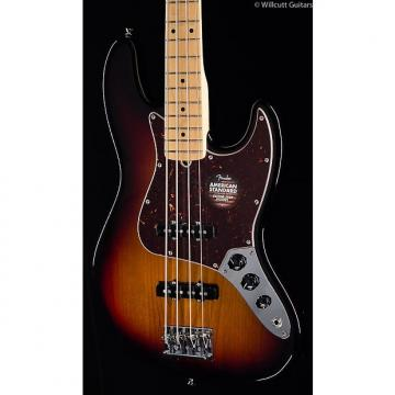 Custom Fender American Standard Jazz Bass® 3-Tone Sunburst, Maple (813)