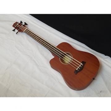 Custom GOLD TONE MicroBass M-Bass LEFTY 4-string A/E Short-Scale BASS guitar w/ BAG new