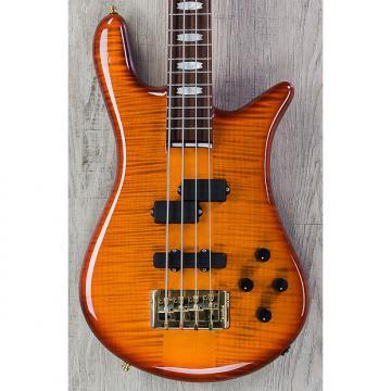 Custom Spector Euro4 LX Bass, Ultra Amber Gloss, Rosewood Board, Bartolini Pickups