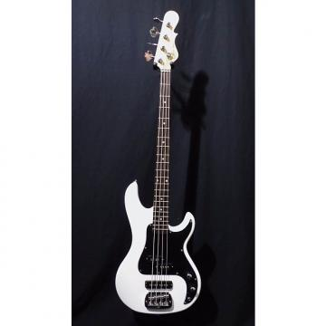 Custom G&L Tribute SB2 Electric Bass in Gloss White & Gig Bag #1005