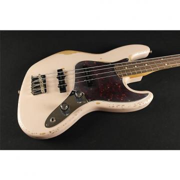 Custom Fender Signature Model FLEA Jazz Bass, Rosewood Fingerboard, Roadworn Shell Pink (916)
