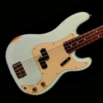 Custom Nash PB-63 Bass Guitar - Sonic Blue - Nash PB-63 Bass Guitar - Sonic Blue