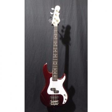 Custom G&L Tribute SB2 Electric Bass in Bordeaux Red Metallic & Gig Bag #8279