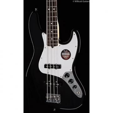 Custom Fender American Standard Jazz Bass® Black, Rosewood (537)