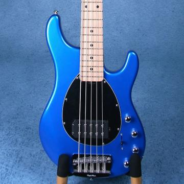 Custom Ernie Ball Musicman Sterling 5 Electric Bass Guitar - Blue Pearl - E25600