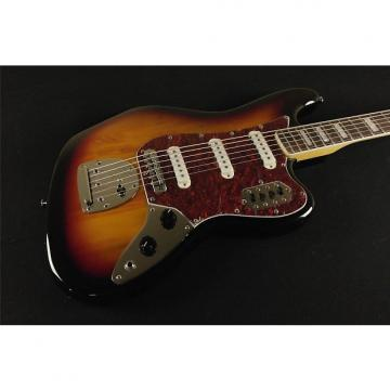 Custom Squier by Fender Vintage Modified Bass VI - 3-Tone Sunburst (315)